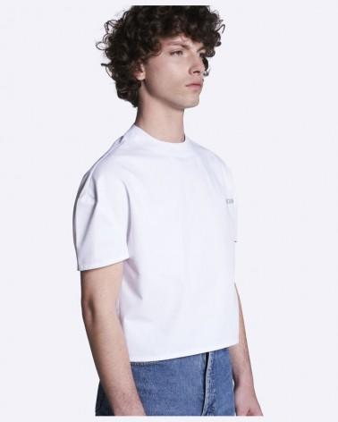 T-shirt crop-top blanc BALLORIN